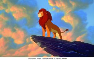 """THE LION KING"" Mufasa ©Disney Enterprises, Inc.  All Rights Reserved."